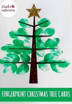 From personalised baubles to Christmas cards, here are 15 simple finger-painting craft ideas for your kids to try. Things MIGHT get messy … (Always … – Infant crafts – Ansicht Christmas Card Crafts, Homemade Christmas Cards, Christmas Tree Cards, Preschool Christmas, Toddler Christmas, Christmas Activities, Kids Christmas, Holiday Crafts, Christmas Decorations