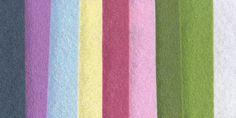 Wool Blend Felt Central - Wool Blend Felt Bundles