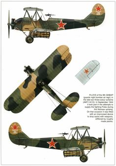 Polikarpov Po-2 / U-2 (1927) introduced in 1920s as trainer/multirole aircraft primarily for civil use and obsolete by the beginning of the war proved extremely efficient as night bomber and multirole STOL aircraft