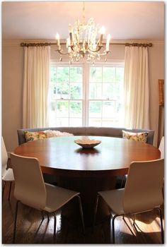 dining rooms with curved sofas | ... size as bench seat in dining Room. Good use for smaller dining rooms