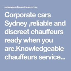 Corporate cars Sydney limo service as required for corporate meetings, conferences and corporate events.Sydney wide corporate limo transfer services are available 365 days a year at short notice. Conference Meeting, Success Factors, Transportation Services, Sydney, Group, Cars, Luxury, People, Vehicles