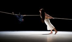 """DANCE REVIEW  A Fanciful Finale to a Tour of the World  Tanztheater Wuppertal Pina Bausch Performs at BAM       Paula Lobo for The New York Times  Tanztheater Wuppertal Pina Bausch Tsai Chin Yu in """"como el musguito en la piedra, ay si, si, si,"""" by this company at the BAM Opera House.  By GIA KOURLAS  Published: October 19, 2012"""