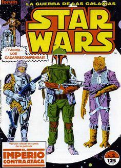 Comic La Guerra de las Galaxias. El Imperio Contraataca, nº 2