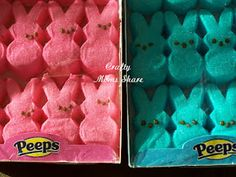 Peep Inspired Crafts