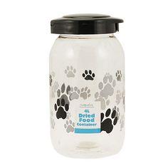 4L Pet Food Container Dog Cat Animal Dry Feed Seed Storage Box Bin Bird Tub