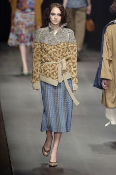Dries Van Noten at Paris Fashion Week Fall 2004 - Livingly