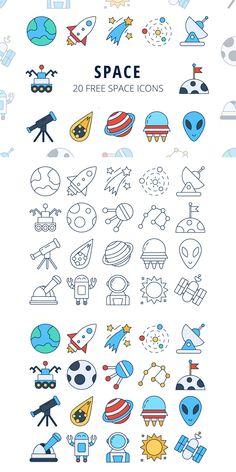 We publish Space Vector Free Icon Set We publiceren Space Vector Gratis Icon Set Space Drawings, Mini Drawings, Easy Drawings, Web Design, Icon Design, Design Ideas, Flat Design, Design Layouts, Icon Set