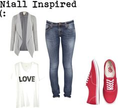 """""""Niall Inspired"""" by dalygeeloves-d ❤ liked on Polyvore"""