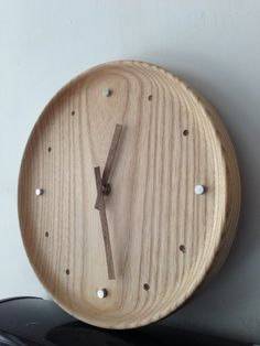 Wooden clock DIY