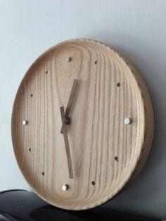 Wooden clock DIY