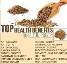 Amazing Benefits Of Cumin Seeds