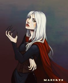 Manon Blackbeak by maeirys. Heir of Fire. Queen of Shadows. Empire of Storms. Sarah J Maas