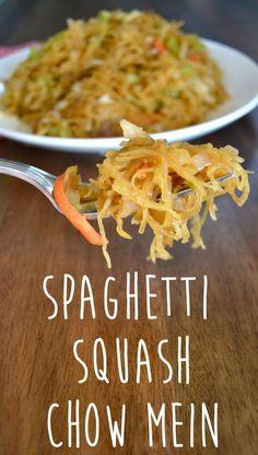 Spaghetti Squash Cho