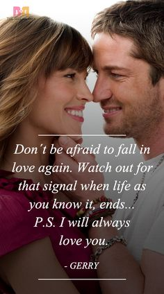P.S. I Love You Quotes – 28 Best Ones From The Movie