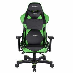 Clutch Chairz Crank Series Green Bravo Gaming Chair