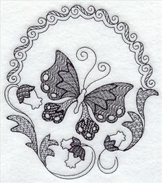 Machine Embroidery Designs at Embroidery Library! - A Contemporary Blackwork Design Pack - Lg Blackwork Patterns, Embroidery Patterns Free, Embroidery Kits, Machine Embroidery Designs, Cross Stitch Patterns, Paper Embroidery, Blackwork Cross Stitch, Blackwork Embroidery, Cross Stitching