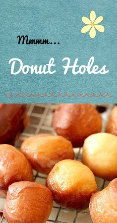 The only thing better than a good doughnut may be a whole batch of awesome doughnut holes.  Getting them just right has been a labor of love.