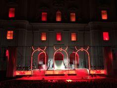 Jedermann-Bühne vorm Salzburger Dom Dom, Neon Signs, Environment