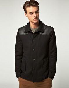 ASOS Wool Donkey Jacket