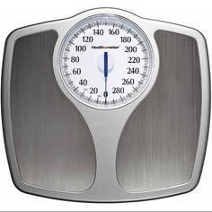 Weight Scale Stainless Steel Analog Speedometer Dial 400 lb  #Healthometer