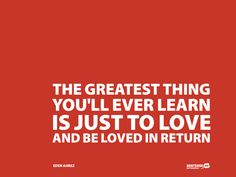 the greatest thing...