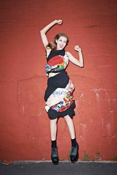 Happy Leap Year! Here Are 29 Pictures of Models Leaping - Fashionista