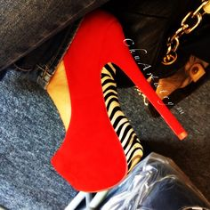 Heels of the day