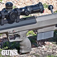 F-Class long-range shooting competition with a bullpup? Why not! This Desert Tech Stealth Recon Scout with 26-inch barrel in .308 Win. is just enough gun for some shooters at 800 yards with the right add-ons. Read more from the January 2017 issue of GUNS Magazine by following our profile link. ---------- #gunsmagazine #righttobeararms #secondamendment #gunstagram #gunsofinstagram #deserttech #schmidtbender #bullpup #308 #igmilitia #fclass #800yards #gunspictures