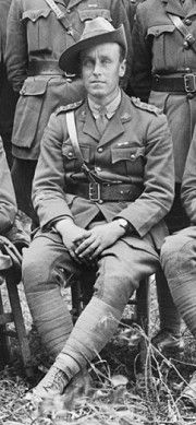 Harold Clifton Rodda was an accountant with the Prahran & Malvern Tramway Trust when he enlisted with the Australian Imperial Force in 1915. He was awarded the Military Cross and was twice mentioned in despatches for bravery. Read about his story at http://www.hawthorntramdepot.org.au/papers/anzac/rodda.htm. Photograph courtesy Australian War Memorial.