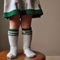 vintage austrian knee highs