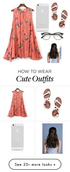 """""""Cute Summer outfit """" by ayoder2020 on Polyvore featuring Tory Burch"""