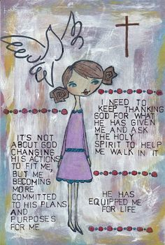 God's Girls Acrylic Stamps- Faith