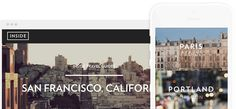 Inside.co - cool little site with travel guides, like the approach to user register