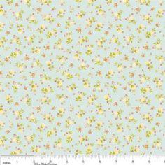 Riley Blake Daydream Petite Floral Blue