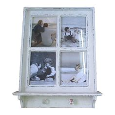White Window Mantel Shelf with Photo Frames This beautifully crafted White Window Mantel Shelf is perfect for any home, with the added beautiful hooks for detailing and great for those necklaces, scarves or ornament this is a great addition for your home. Complete with beautiful glass panels for your photos (8×10″) this piece is a [...]