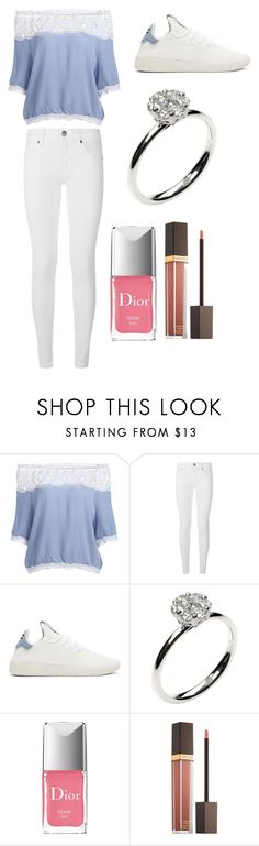 """""""Sans titre #7485"""" by yldr-merve ❤ liked on Polyvore featuring Burberry, adidas Originals, Annoushka, Christian Dior and Tom Ford"""