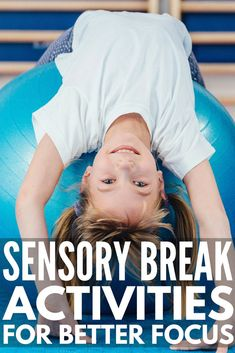 21 Sensory Break Activities for Kids   Also known as 'brain breaks' & 'movement breaks', these sensory breaks for kids are perfect to help students with ADD, ADHD, sensory processing disorder, autism & other developmental delays calm down & focus in the classroom. Perfect for teachers & parents, these fun ideas also develop gross motor skills, improve self-regulation & help with behavior management in the classroom. #sensorybreakactivities #sensorybreak #sensoryactivities #brainbreaks