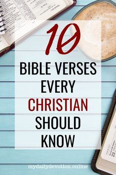 As Christians, we should hide the word of God in our hearts not only so that we know it but so we can share His word with others. Here are 10 Bible Verses every Christian should know. Bible Verses Quotes, Bible Scriptures, My Daily Devotion, Miracle Prayer, Bible Study Tools, Daily Devotional, Word Of God, Christian Quotes, Psalms