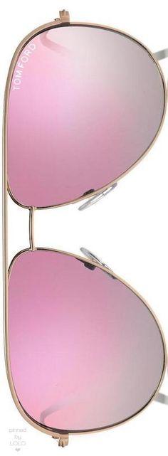 Tom Ford Eyewear Erin 61MM Mirrored Aviator Sunglasses