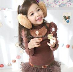 เสื้อแขนยาวเด็กสไตล์เกาหลี 100 110 120 ~ 259.00 บาท >>
