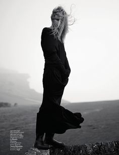 """Natasha Poly in """"The Flower Of The North"""" by Willy Vanderperre for AnOther Magazine Winter 2008"""