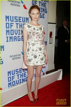 Kate Bosworth hit the red carpet at the Museum of Moving Image's Salute to Kevin Spacey in New York