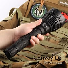 67.29$  Buy here - http://aliugn.worldwells.pw/go.php?t=32709507221 - Convoy L6 Flashlight, XHP70 Led Inside