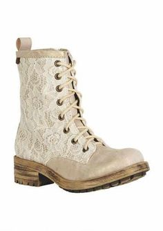 Cute lace boots