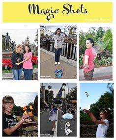 ** UPDATED LIST!!! ** Photopass Magic Shots | What's available, how they work, and where to find them in the parks!