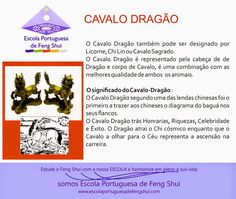 Escola Portuguesa de Feng Shui: CAVALO-DRAGÃO