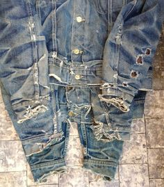 A Series Of Personal And Evolutionary Denim Fades