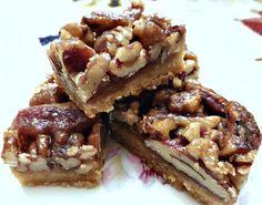 Sweet and Salty Pecan Pie Bars