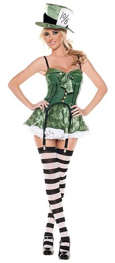 Buy Mad Hatter Alice in Wonderland costumes in sizes from x-small to plus. From the storybook Mad Hatter costume to a sexy Mad Hatter outfit, we have a unique look for everyone. Sit back, drink some tea, and choose the Mad Hatter costume perfect for you! Sexy Halloween Costumes, Halloween Cosplay, Adult Costumes, Costumes For Women, Halloween Ideas, Fun Costumes, Halloween Tricks, Pretty Halloween, Halloween Fashion