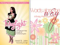 Busy Homeschool Moms Books - Enter to win a copy - but definitely READ!